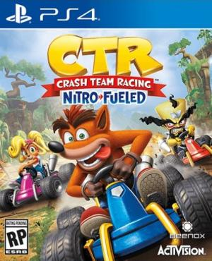 Okładka - Crash Team Racing Nitro-Fueled