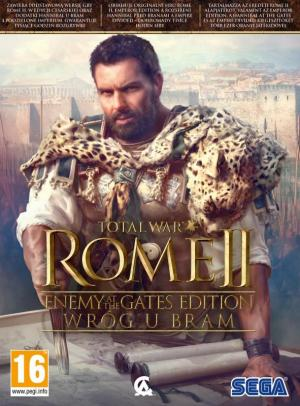 Okładka - Total War Rome II - Wróg u bram (Enemy at the Gates Edition)