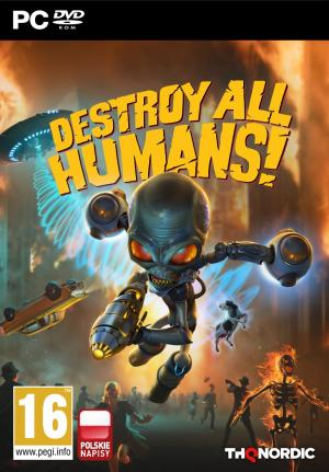 okładka Destroy All Humans! (2020)