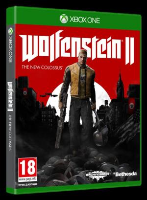okładka Wolfenstein II - The New Colossus