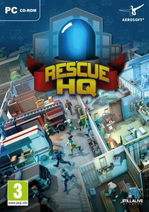 Okładka - Rescue HQ - The Blue Light Tycoon (Rescue HQ - The Tycoon)