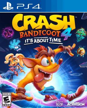 okładka Crash Bandicoot 4 Najwyższy czas (Crash Bandicoot 4 It's About Time)