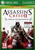 Okładka - Assassins Creed 2 - Game of the Year (X360)