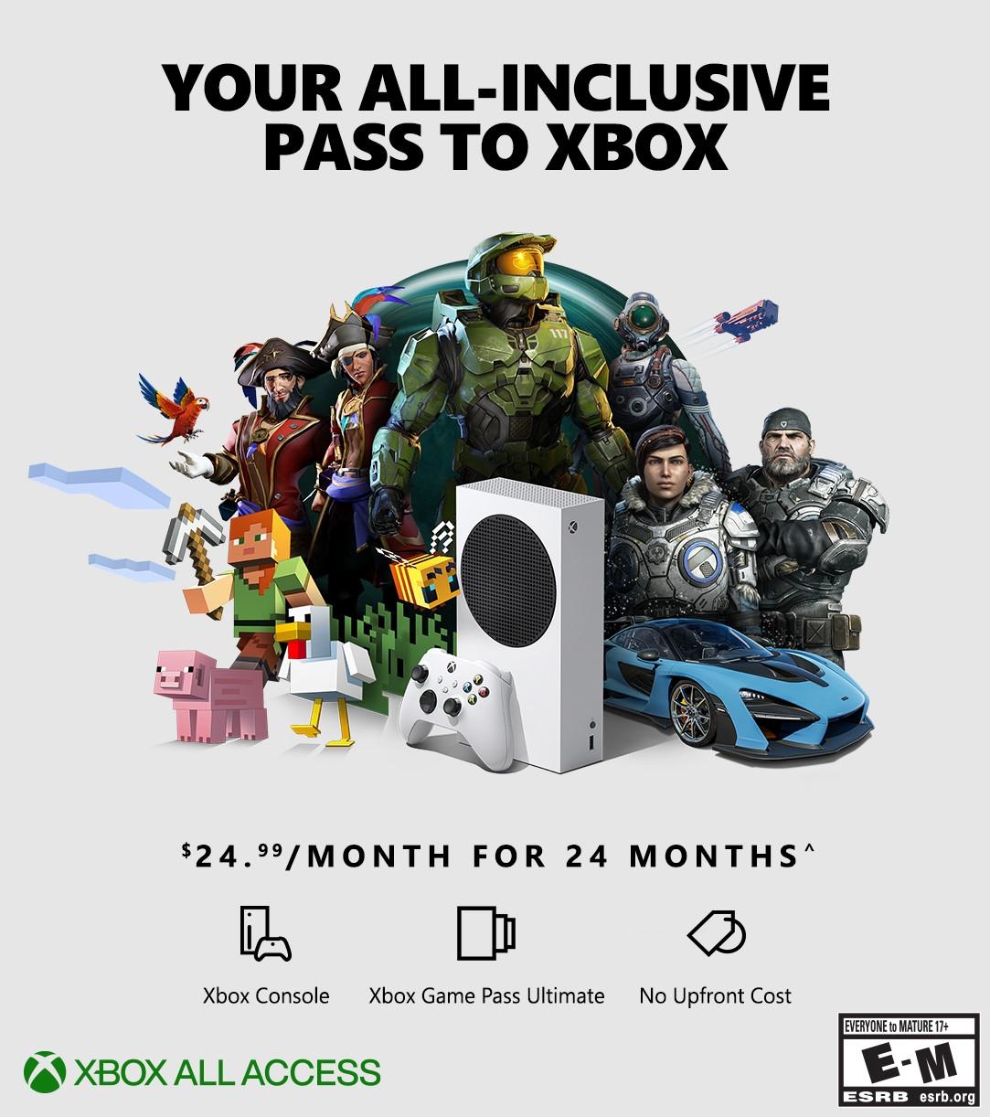 Xbox All Access wpis 2