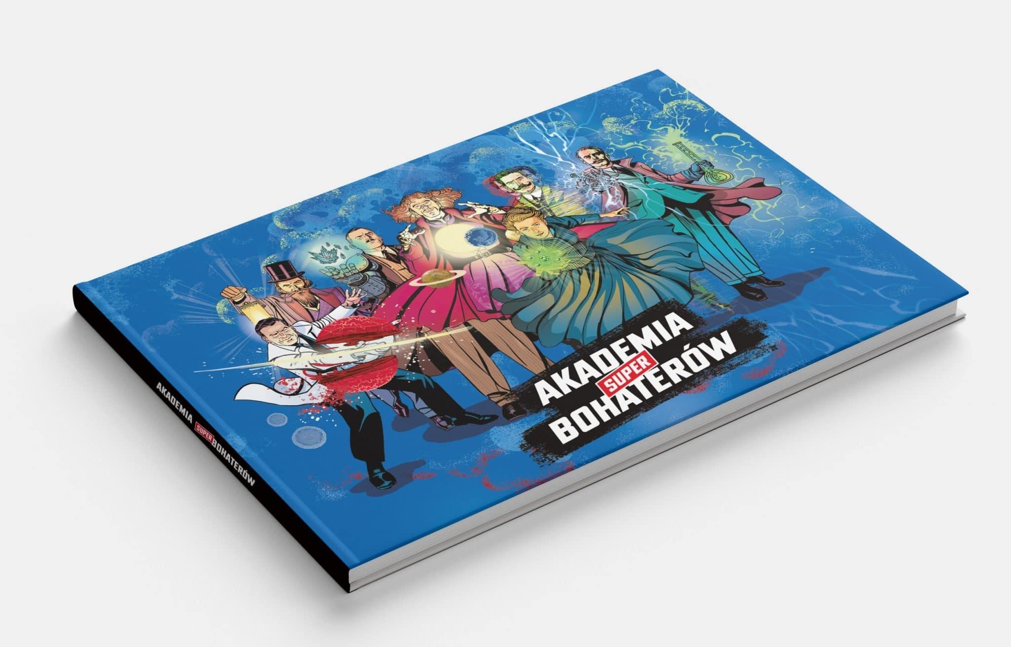 Akademia Superbohaterów - książka