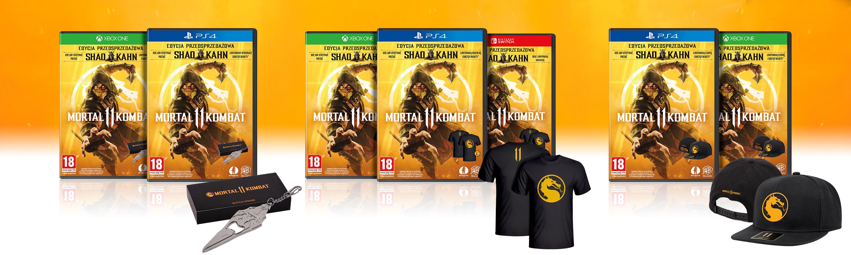 Mortal Kombat 11 z prezentami w ramach zamówień